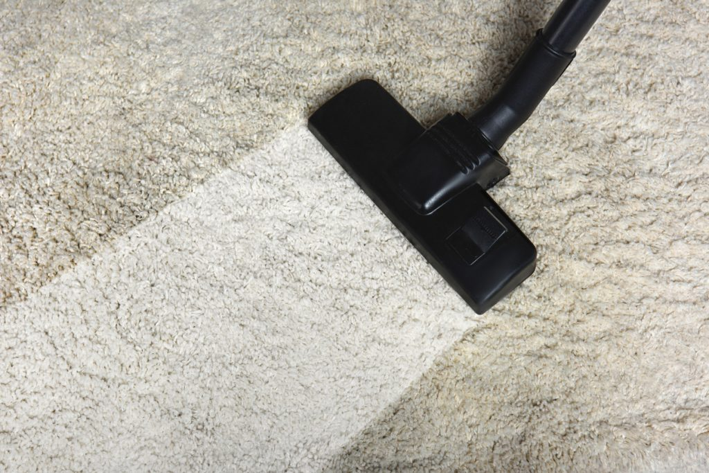 Steam Vacuum Cleaning Carpet